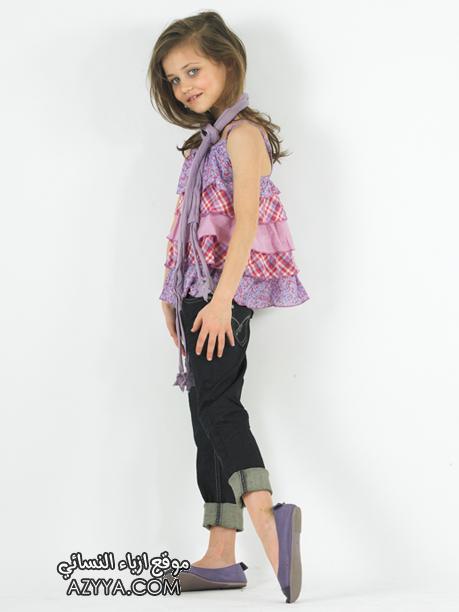 ملابس بنات 2012 ازياء اطفال ملابس 2012