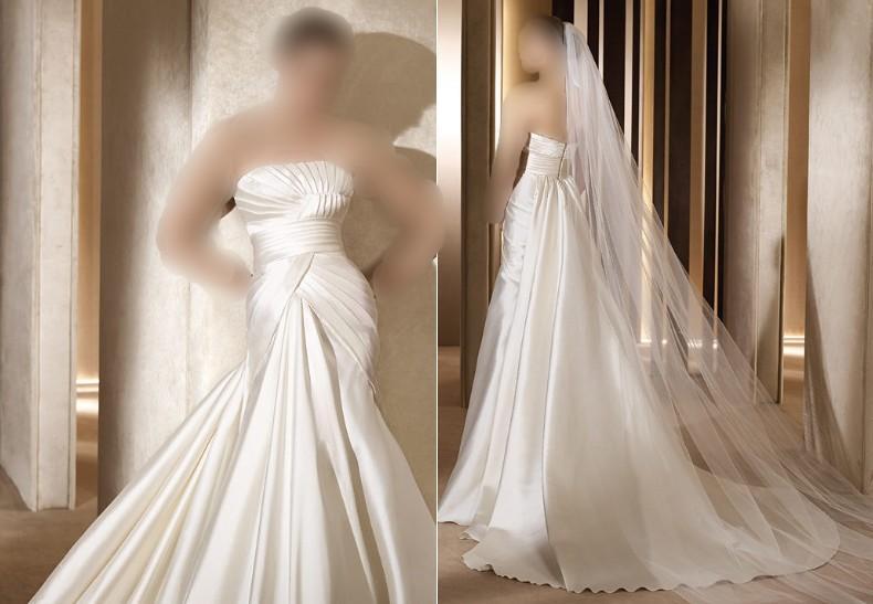 جديد فساتين زفاف المصمم العالمي ايلي صعب