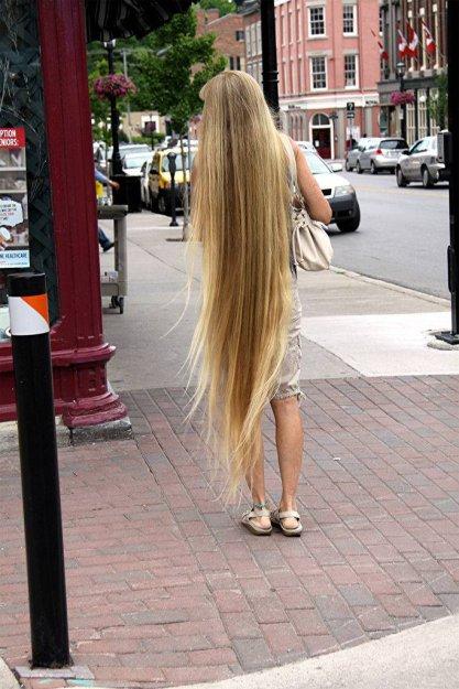 اللي يحبون الشعر الطويل يتفضلوا