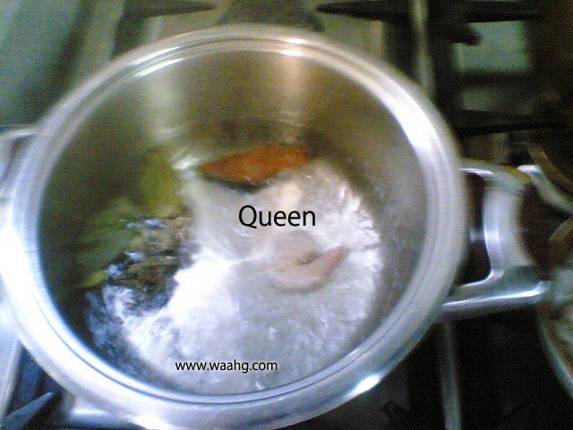 كبسة روبيان ( من مطبخي الخاص )