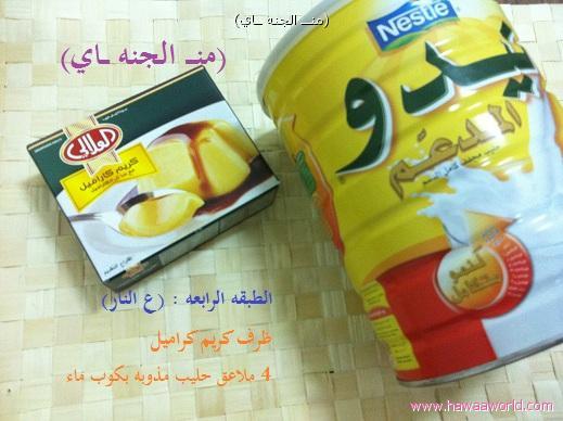 حلى منزلي بارد خرافي شكله وطعمه وبالصور