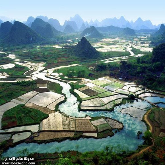 صور للطبيعة الساحرة في الصين