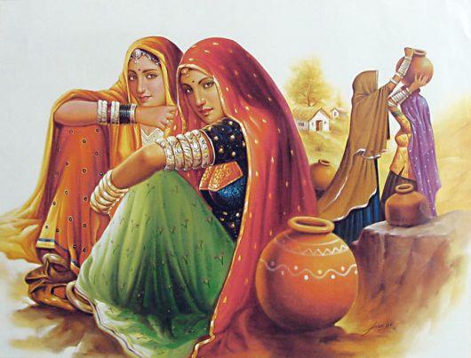 لوحات مع فنانين من الهند