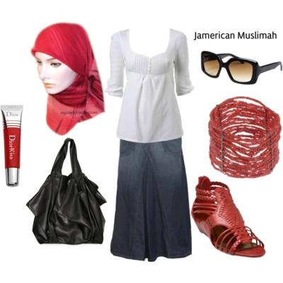 ملابس راقيه للمحجبات 2012 ، احلى كولكشن محجبات