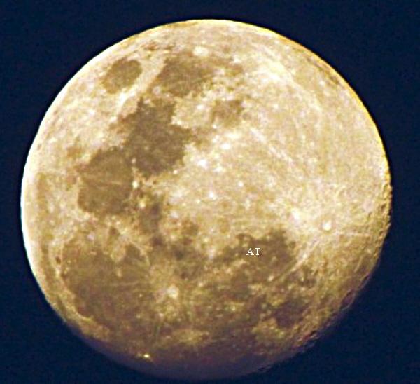 و هكذا رأيت و صورت القمر مساء يوم 29 اب / أغسطس 2012