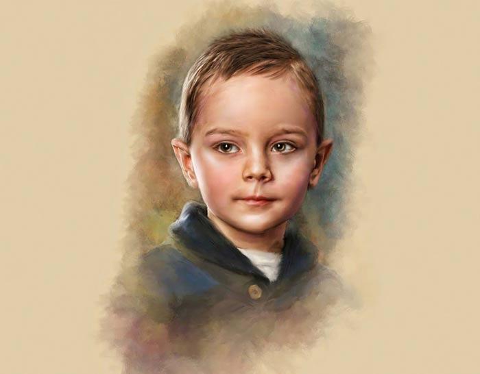 لوحات الفنان ريتشارد رامسى