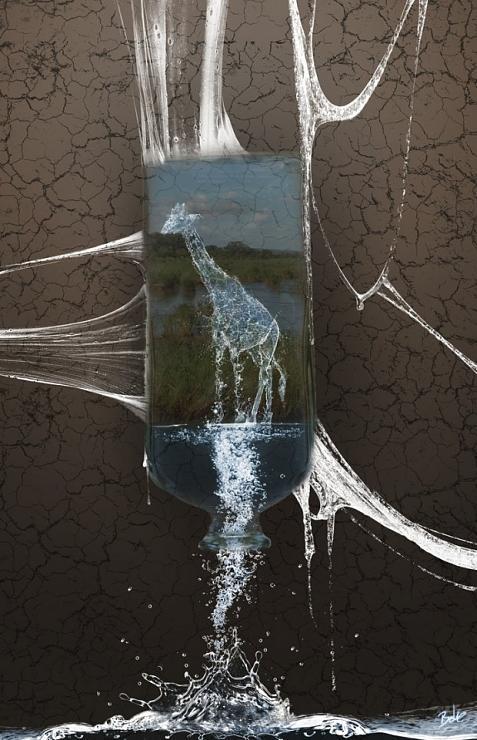 صور مذهلة التلاعب بالمياه