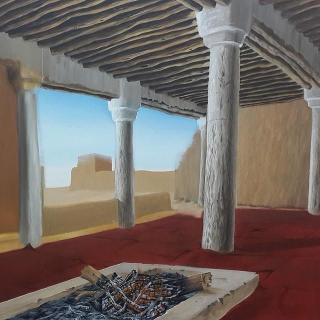 ابداع بيد الفنان المبدع نادر العتيبي (عاشق الصحراء)
