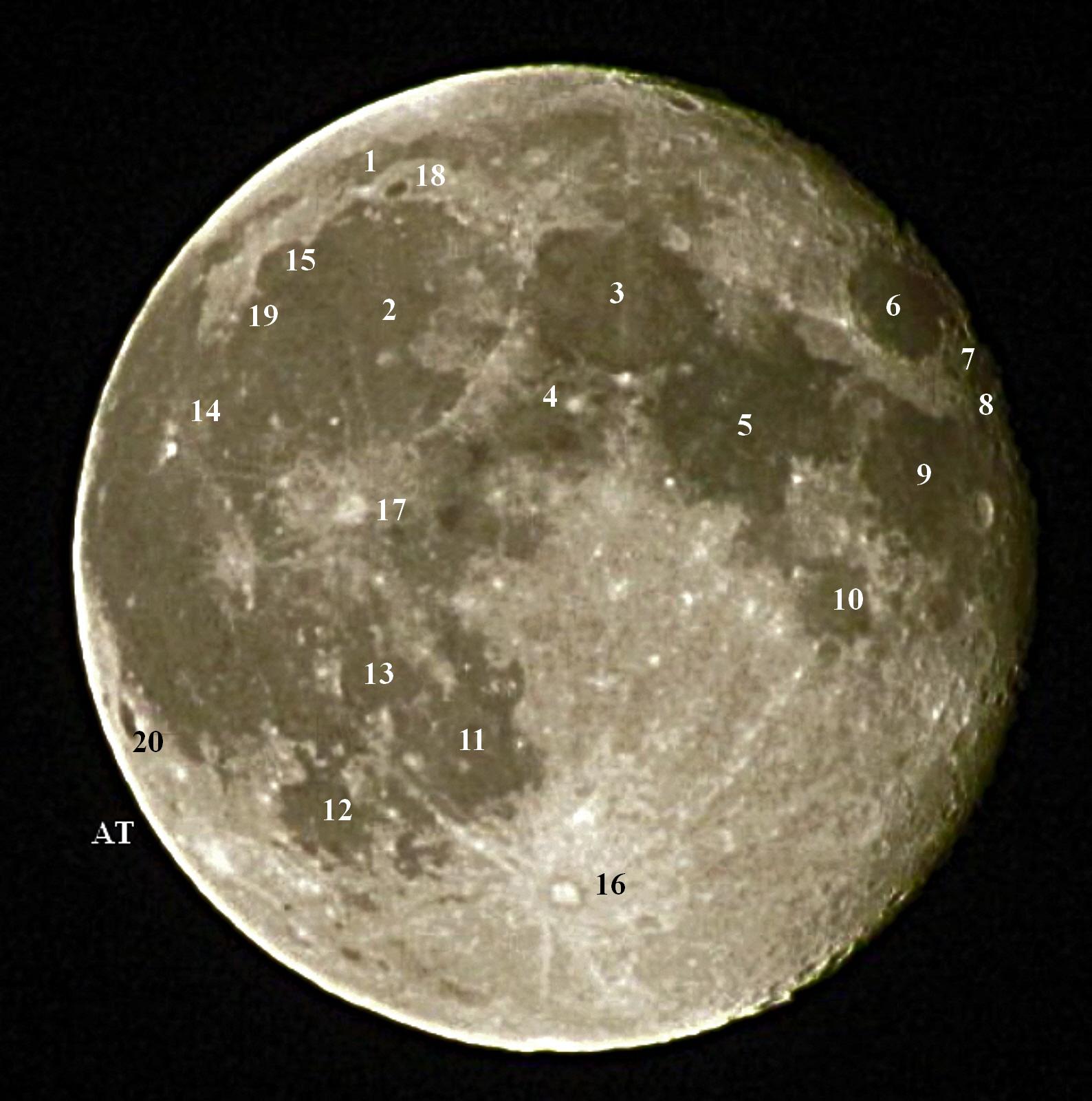 إطلالة القمر فوق مدينتنا ماربورغ مساء 1 أكتوبر 2012