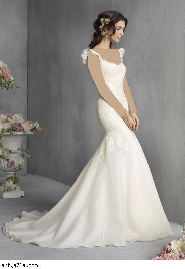 فساتين زفاف راقية..~