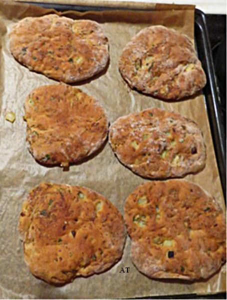 خبز عروق أو خبز اللحم العراقي الذيذ