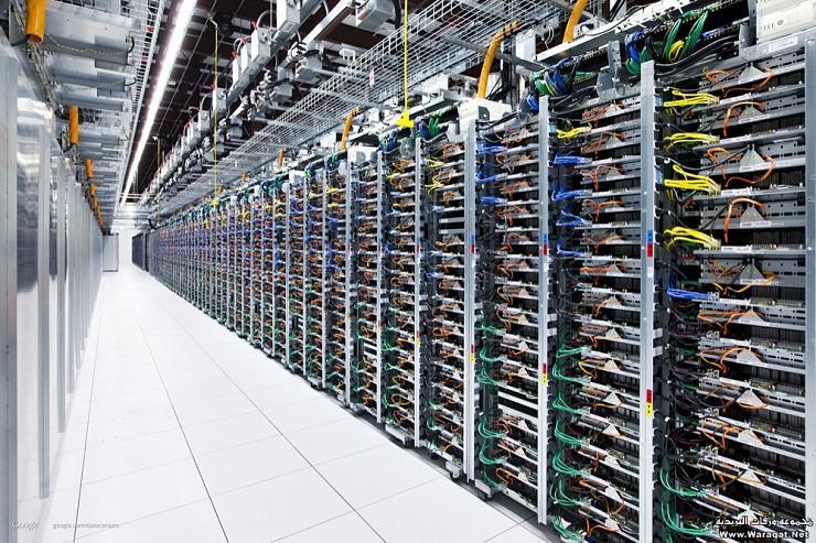 صور مركز بيانات قوقل