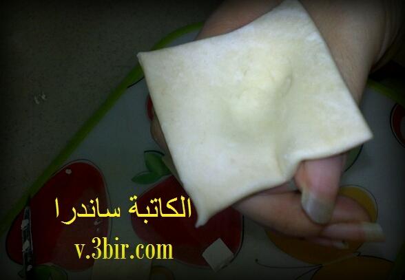 البف باستري بالجبن الكيري / الكاتبة ساندرا