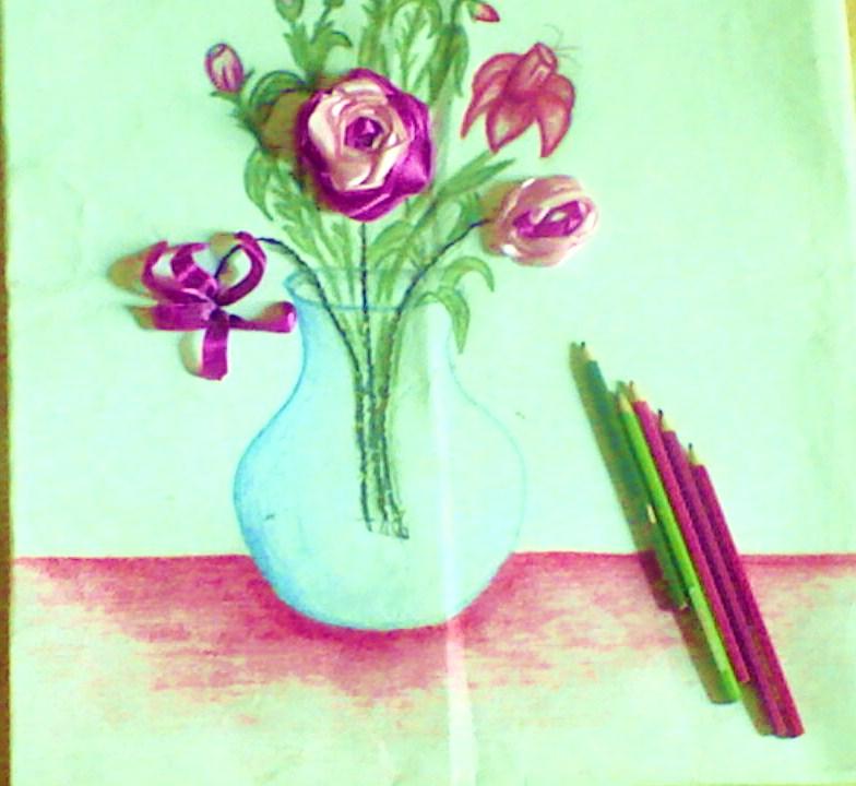 صور اول لوحه ارسمها