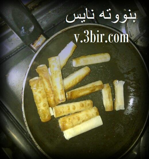 حلا اصابع الجبن من مطبخي
