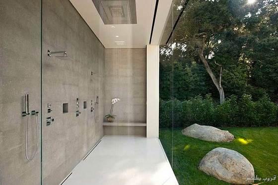 البيت الزجاجي .. في كاليفورنيا ..!