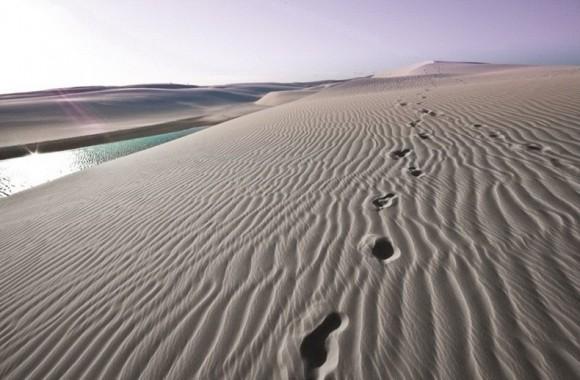 اغرب صحراء بالعالم......