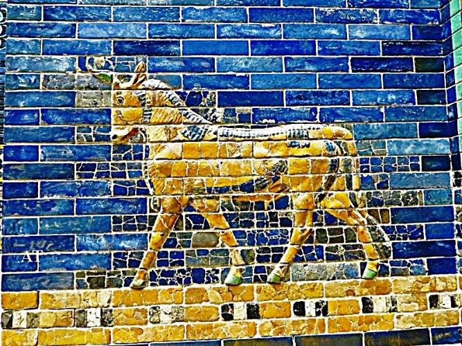 زيارة بوابة عشتار و مسلة حمورابي في متحف برجامون ببرلين