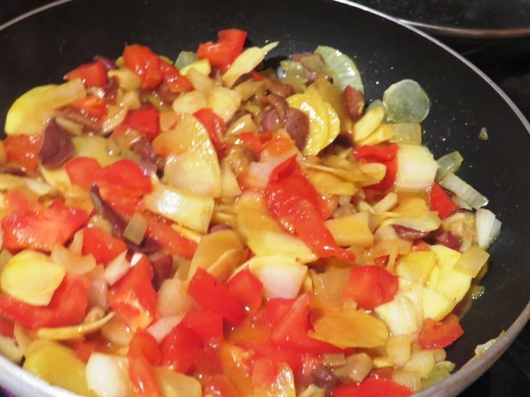 وصفة أكلة الفطريات التي جمعتها صباح اليوم 15 سبمتبر 2013