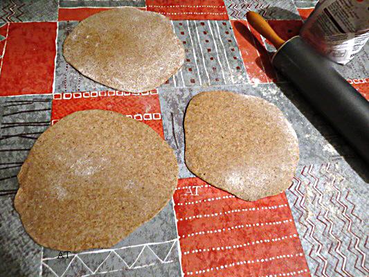 وصفة خبز الشعير العربي المجربة في 25 نوفمبر 2013
