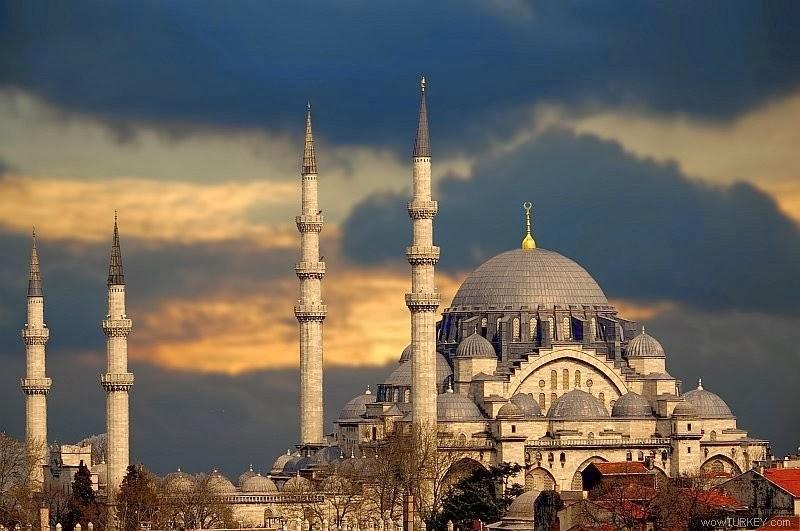 الجامع الأزرق اسطنبول تركيا
