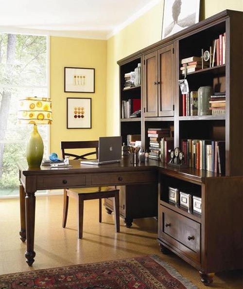 Modular Home Office Furniture Designs Ideas Plans: ديكورات مكاتب منزلية أنيقة