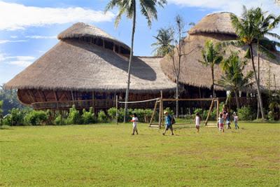 مدرسة خضراء في جزيرة بالي