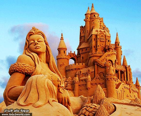 النحت على الرمال