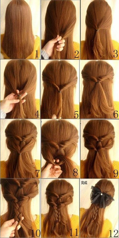 تسريحات لجميع انواع الشعر