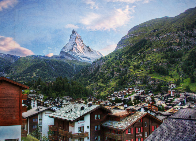اجمل مدن سويسرا..*