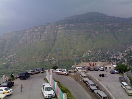 صور لمدينة ( إب ) اليمنية