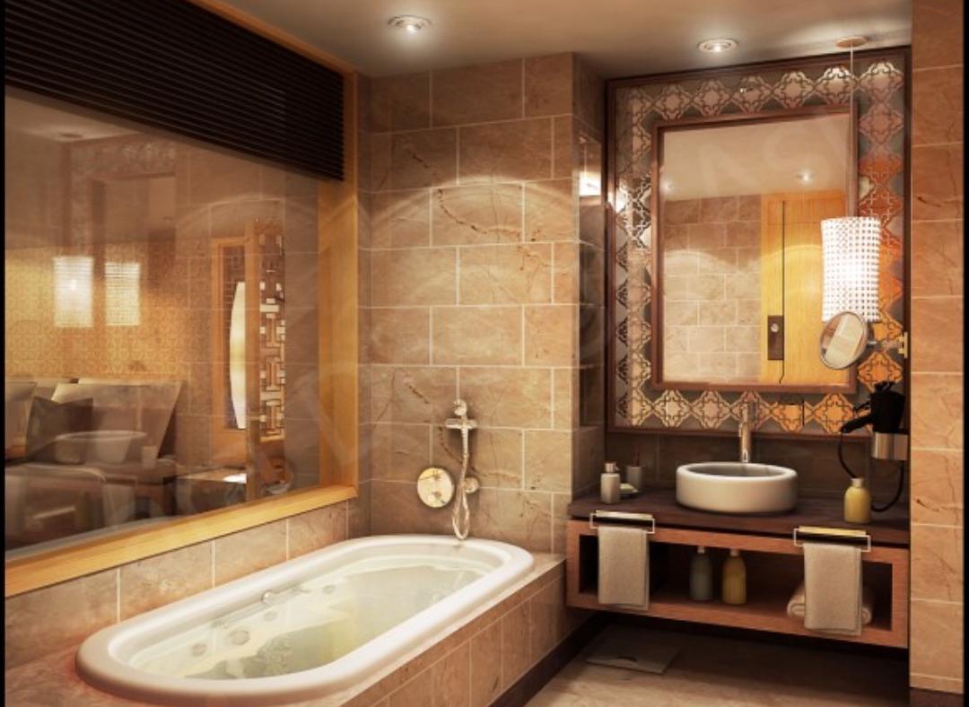 حمامات رائعة