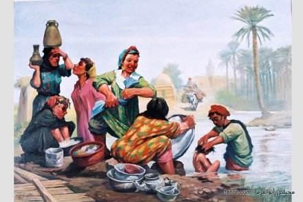 لوحات زيتية مصريه