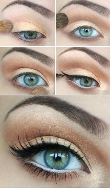 هل تودين تعلم طريقة رسم العيون والحصول على مكياج عيون ناعمة بالصور