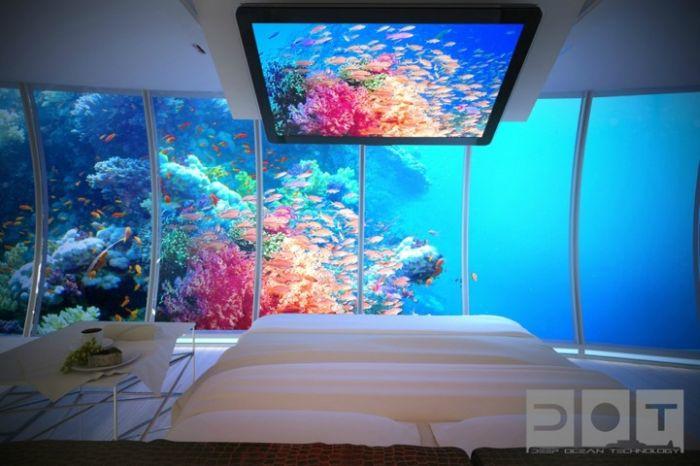 فندق تحت البحر في دبي