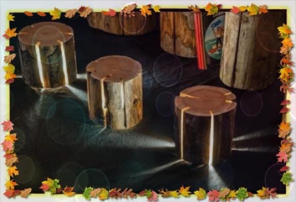أفكار للإستفادة من خشب الشجر في تزيين المنزل