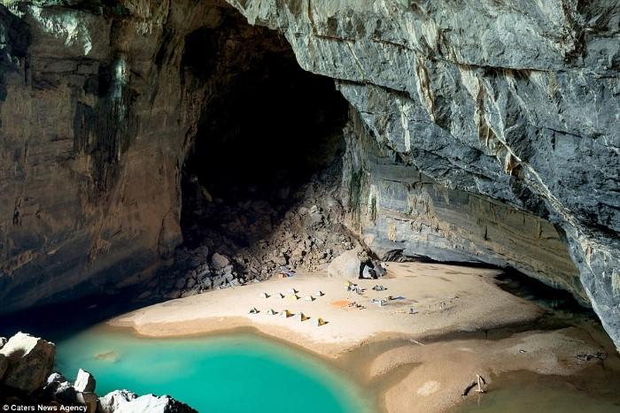 الشاطئ الأكثر سرية في العالم