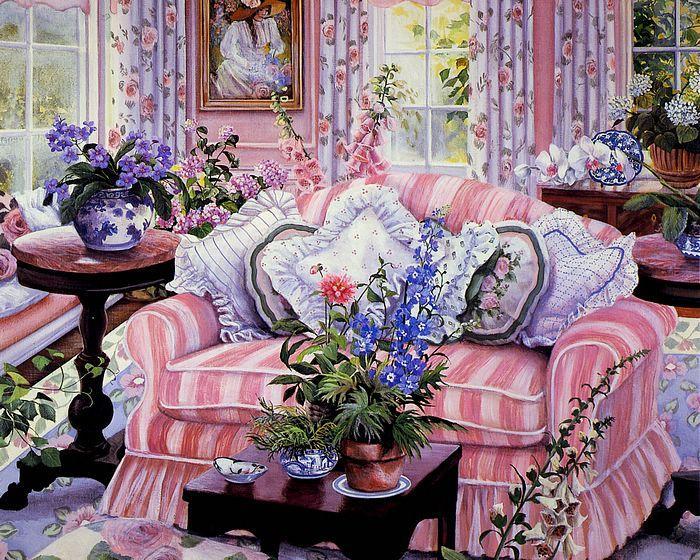 لوحات زيتية رائعه