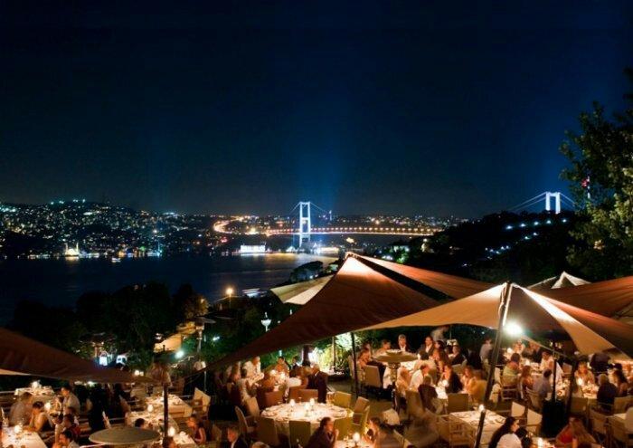 بالصور مطاعم بإطلالات ساحره في اسطنبول