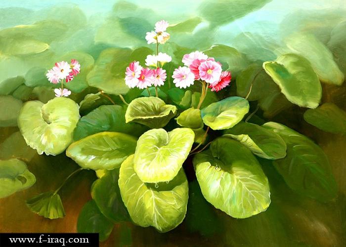 لوحات من الفن الكوري ...