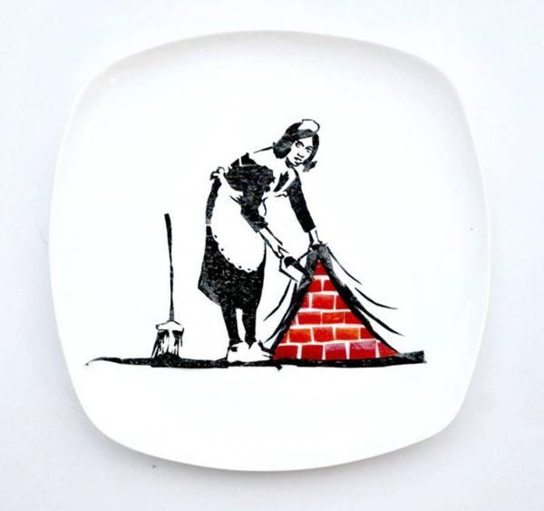 هونغ يى يبتكر لوحات فنية من الأطعمة المختلفة