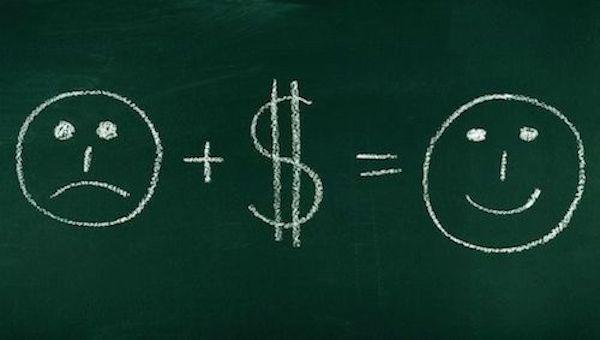 هل المال يجلب السعادة ؟