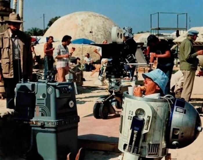 صور: كواليس صناعة أشهر أفلام السينما