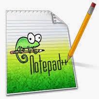 تحميل برنامج المفكرة الرائع Notepad plus 2019