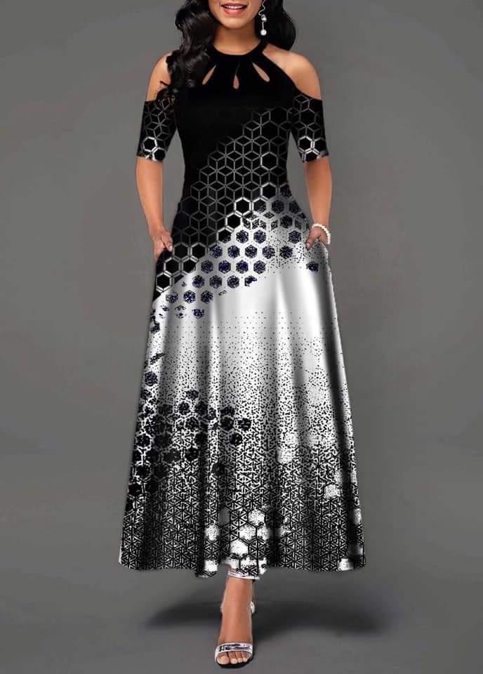صور اجمل الفساتين 2019 , فساتين طويلة رائعة 2019