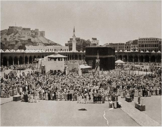 أول صور لمكه ومناسك الحج عام 1885