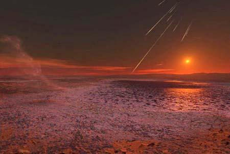 شروق الشمس على كوكب المريخ سبحآن الله