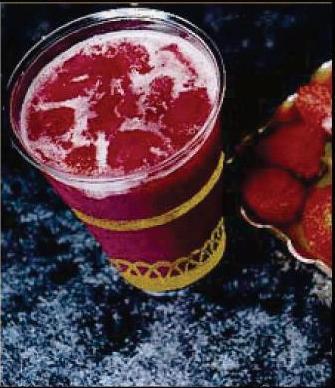 شراب الفراولة
