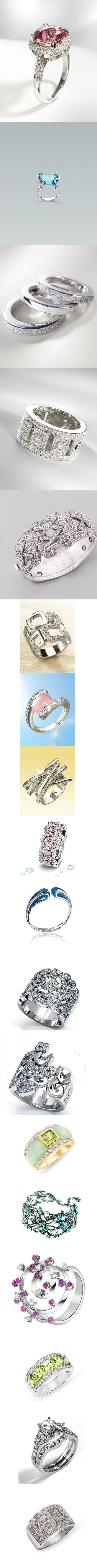 خواتم الماس غريبه والوان رائعة