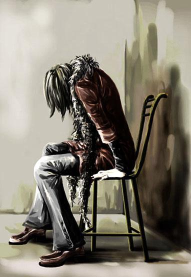 انا الحزن والحزن انا